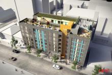 18,700 SF of Residential Floors 2-7