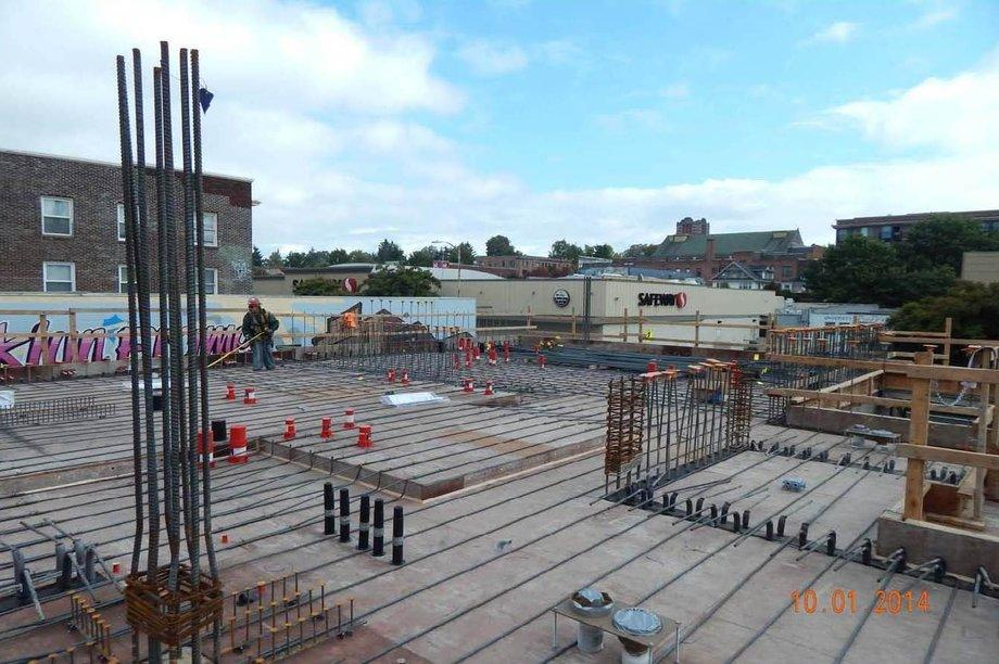 Post Tensioned Concrete Deck