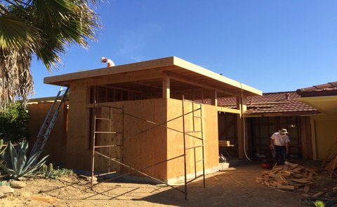 Construction Underway on Vaquero Residence