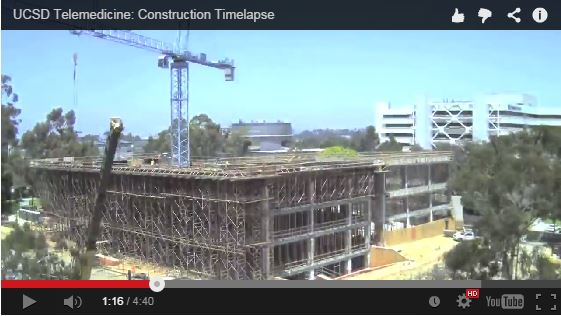 Youtube Telemedicine building timelapse
