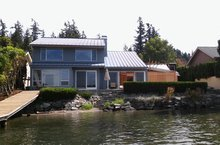 finished home remodel on Lake Whatcom