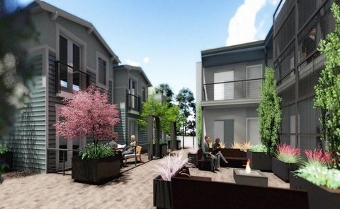 pacific courtyards in San Luis Obispo