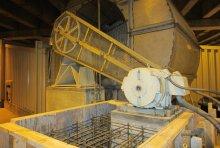 inside of supply fan motor pedestals