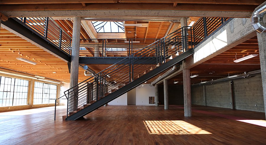 Custom Steel Staircases