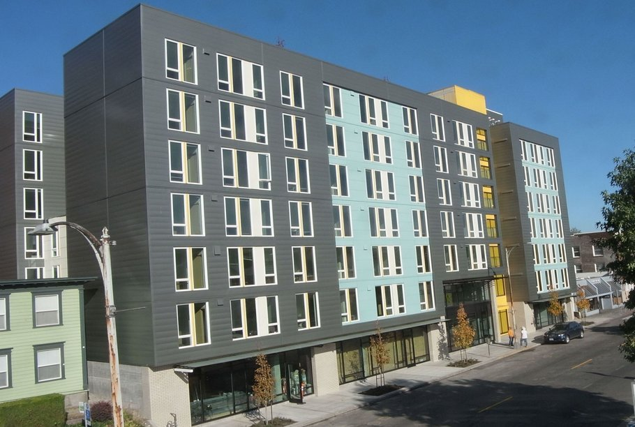 mixed-use student housing in seattle